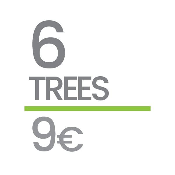 Plant 6 Trees